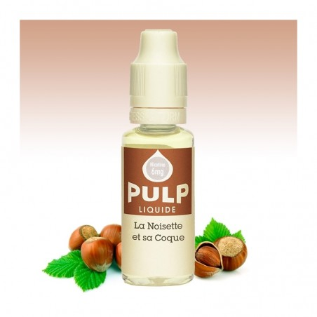 Lot de 4 E-liquides - La Noisette et sa coque - 10 ml - Pulp